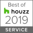 Best of Houzz 2019 Service Award!